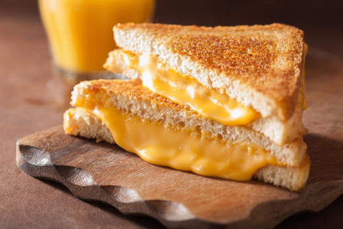 #NationalGrilledCheeseSandwichDay