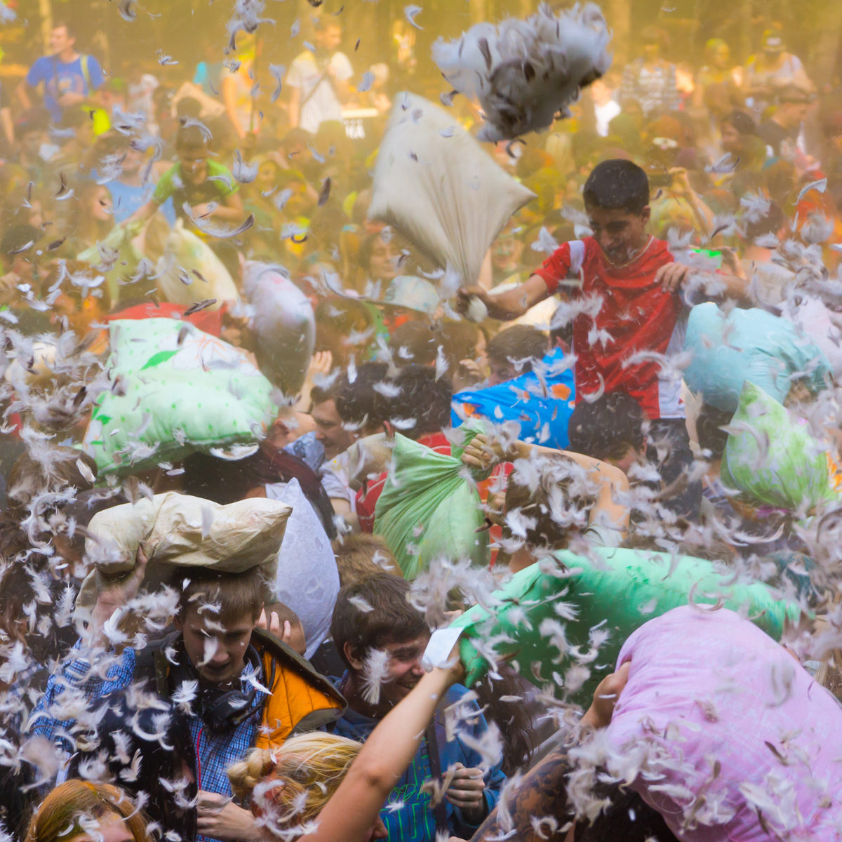 #PillowFIghtDay