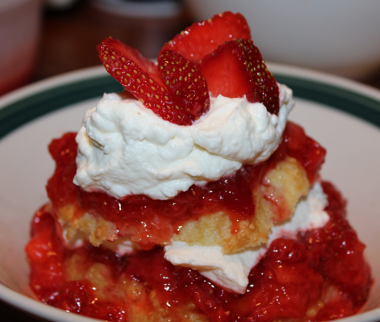 National Strawberry Shortcake Day celebrate all versions of this delectable dessert. My favourite is the sponge cake variety ... the way my mother used to make it.
